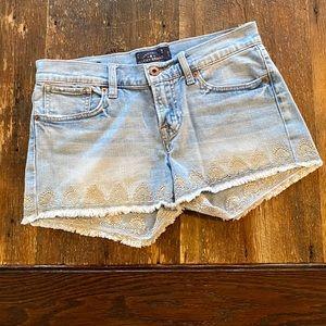Lucky Brand Malibu Shorts. Size 0